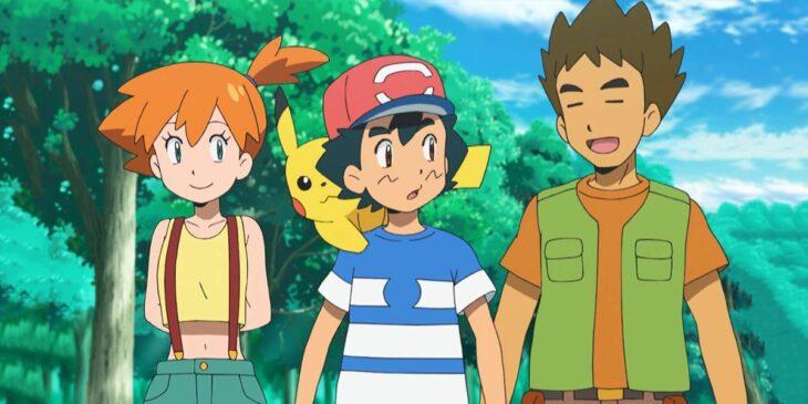 Escena de la serie de Pokémon