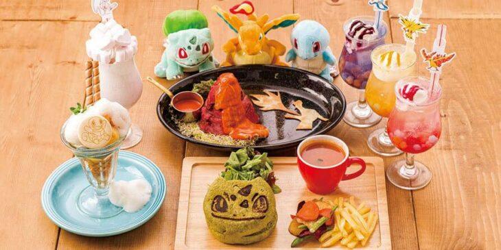 Comida del Pokémon Café Tokio