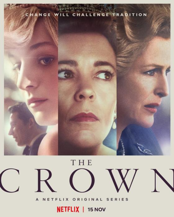 Póster de la cuarta temporada de 'The Crown'