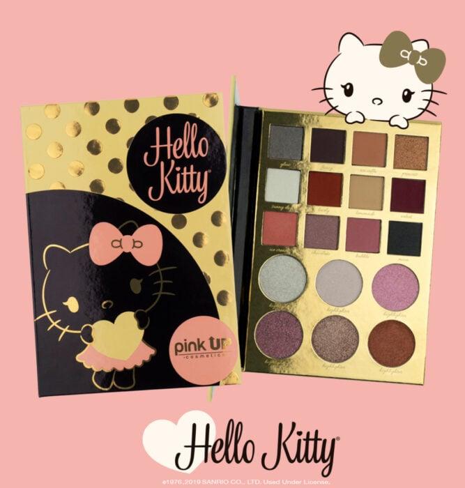Regalos bonitos de Hello Kitty que puedes comprar en línea; set de sombras de Pink Up