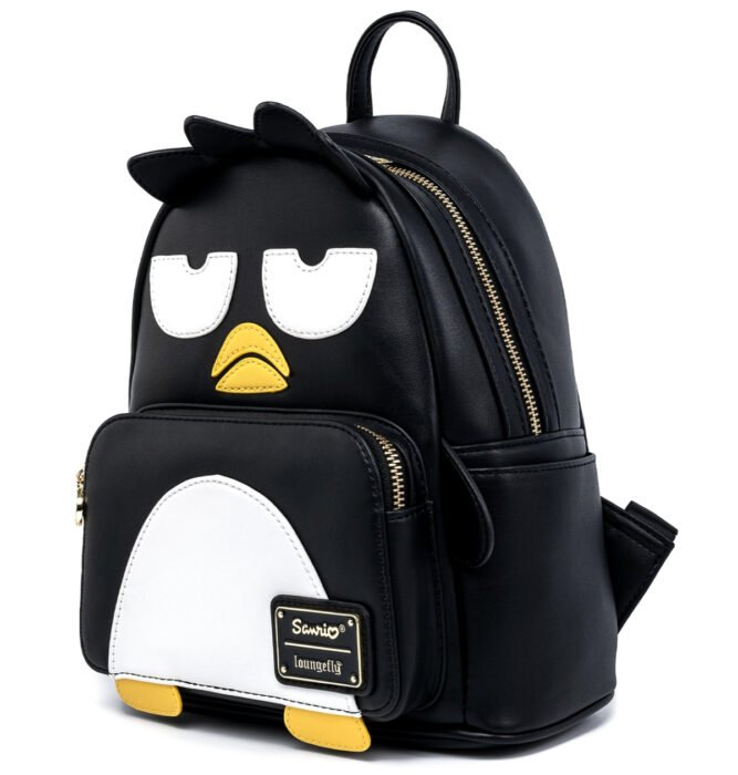 Regalos bonitos de Hello Kitty que puedes comprar en línea; mochila de Badtz Maru negra