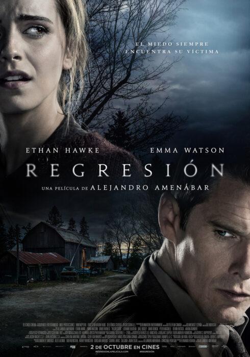 Poster de la película 'Regresión'