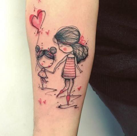 Ideas De Tatuajes Perfectos Para Las Chicas Que Son Mamás