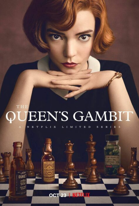 Poster de 'The Queen's Gambit'