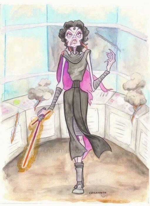 Yzma como protagonista de la película 'Star Wars'