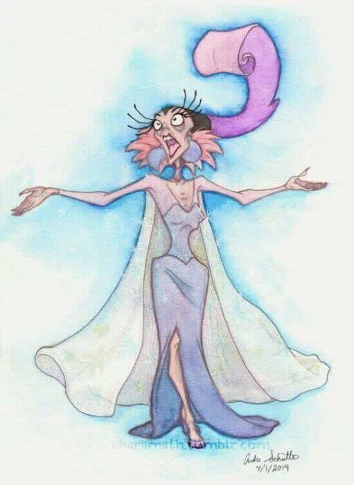 Yzma como protagonista de la película 'Frozen'