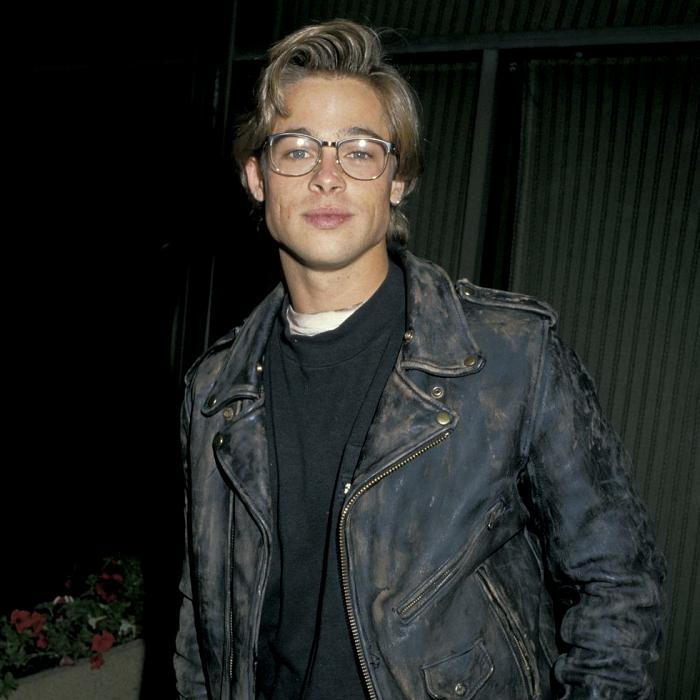 Brad Pitt joven en 1988