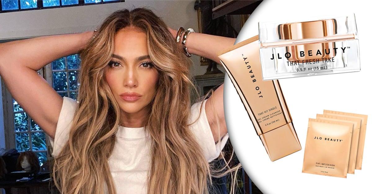 """Jennifer Lopez lanza su línea de skincare """"JLO BEAUTY"""""""