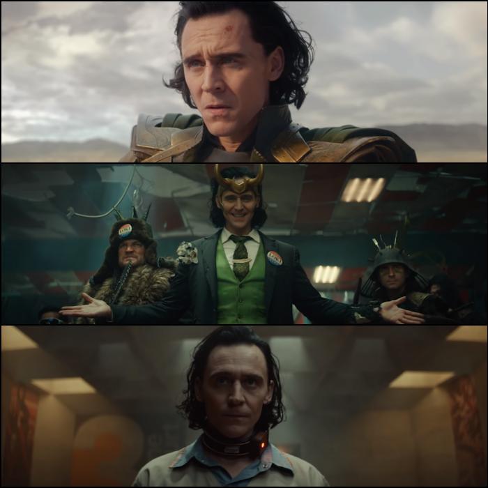 escenas de la nueva serie Loki para Disney+