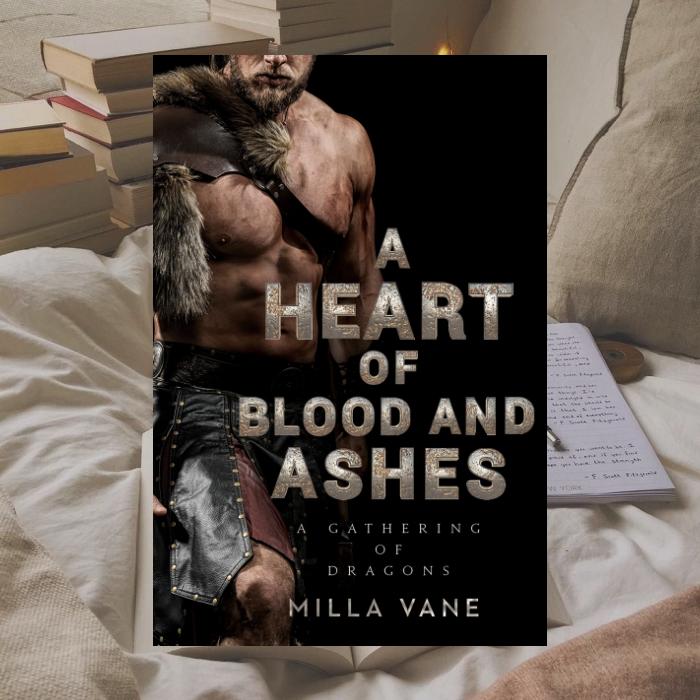 Corazón de sangre y cenizas de Milla Vane