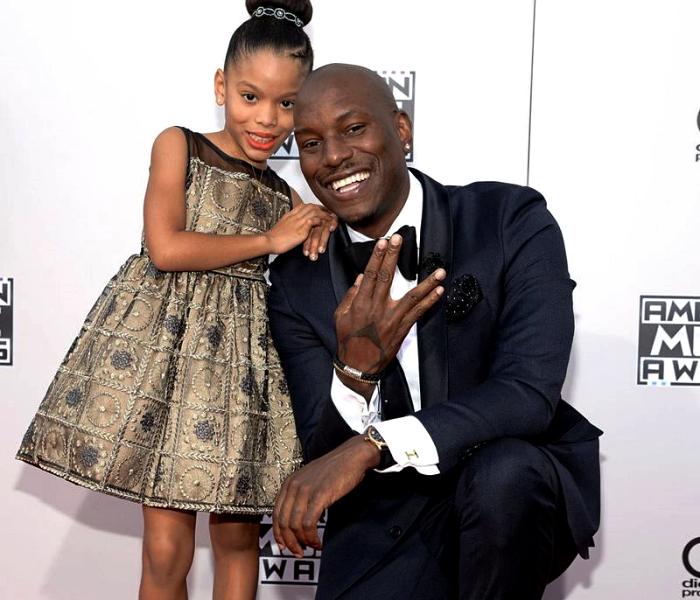 Tyrese Gibson y su hija