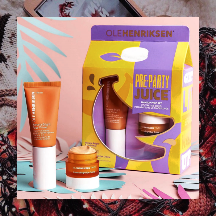 set de skincare ole henriksen pre party juice makeup prep set de sephora