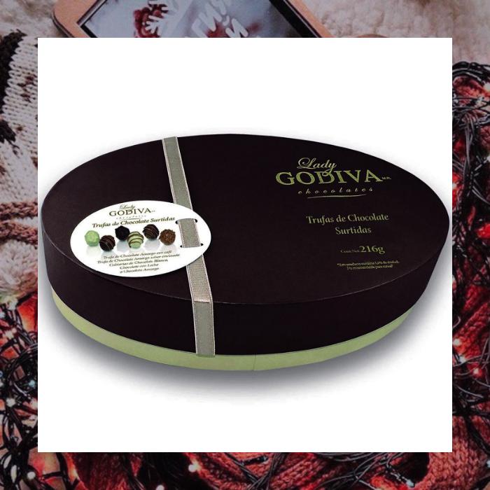 caja de chocolates de lady godiva en liverpool