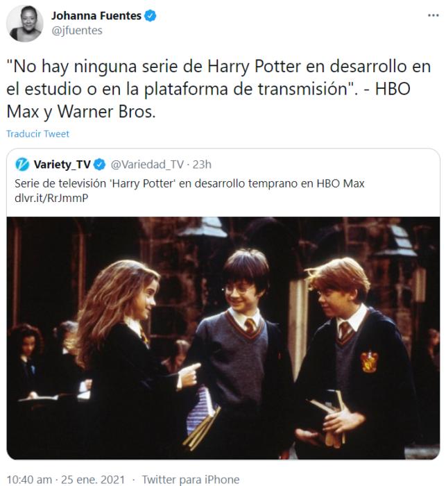 'Harry Potter' podría tener una serie de televisión y te contamos los detalles