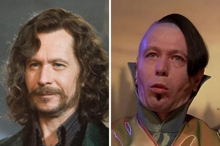 Gary Oldman como Sirius Black y Zorg From