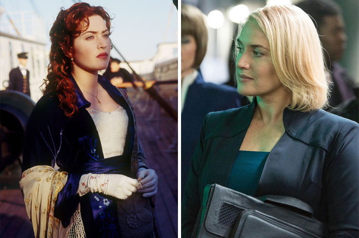 Kate Winslet como Rose y Jeanine