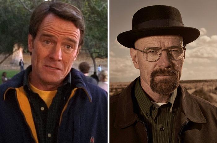 Bryan Cranston como Hal From y Walter White