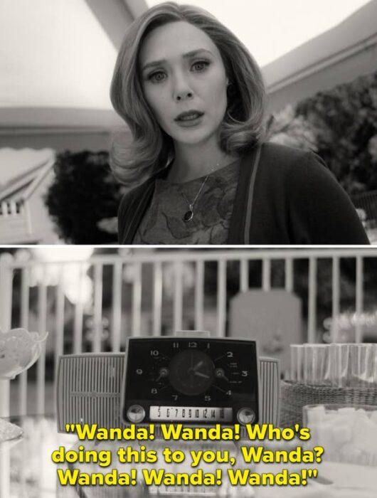 Escenas de la serie de Disney+ 'WandaVision'