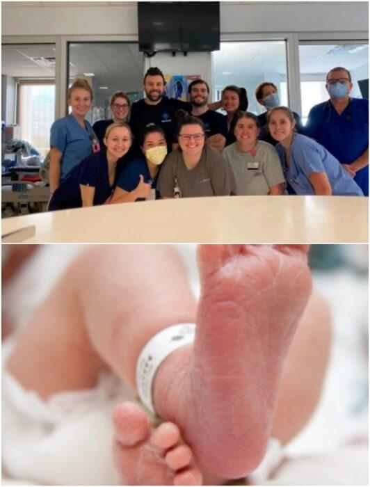enfermeros permanecen en hospital a pesar de huracán