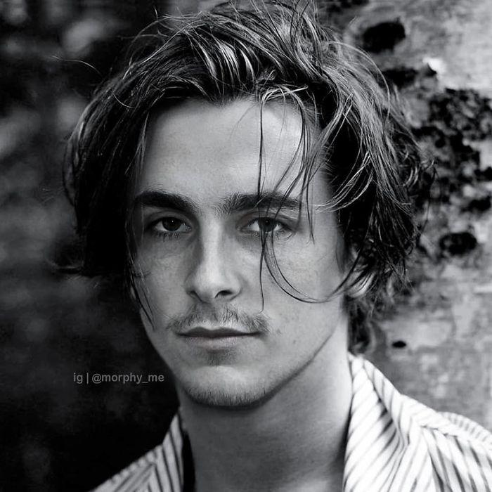 Christian Bale y Timothée Chalamet fusionados por  por el artista francés Morphy_me; Artista fusiona a dos celebridades y crea increíbles mashups