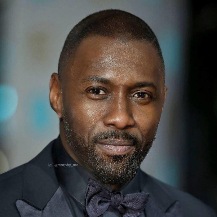 Idris Elba y Mahershala Ali fusionados por  por el artista francés Morphy_me; Artista fusiona a dos celebridades y crea increíbles mashups