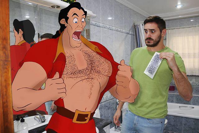 Samuel MB con Gastón
