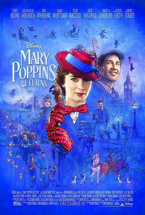 Poster de 'El regreso de Mary Poppins'
