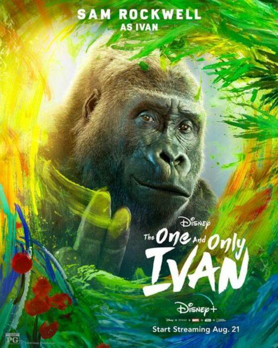 Poster de 'El único y gran Iván'
