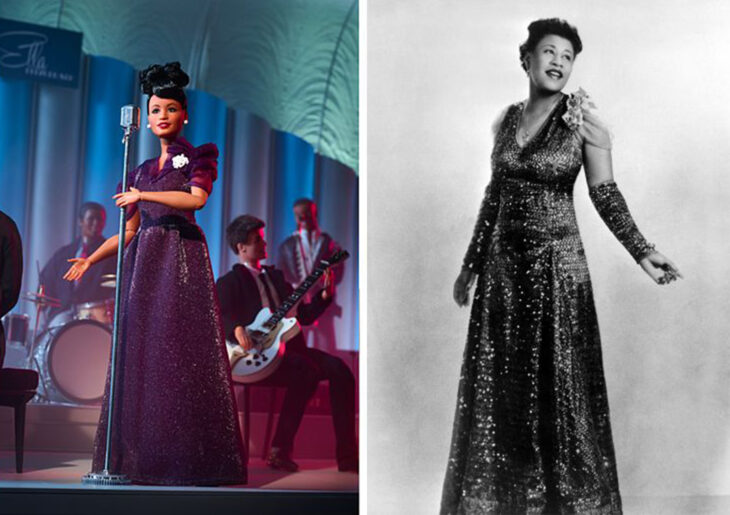 Barbie de Ella Fitzgerald, cantante de jazz