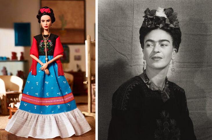 Barbie de Frida Kahlo, artísta