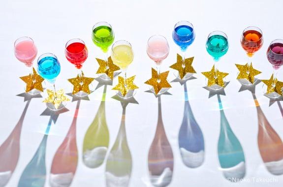 Copas de shot de colores; Lanzan lujoso paquete de bodas inspirado en Sailor Moon; ¡es hermoso!