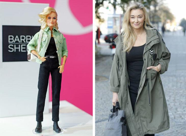 Barbie de Martyna Wojciechowska, periodísta