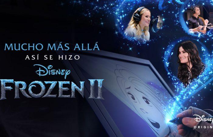 Poster de 'Mucho más allá creando Frozen II'