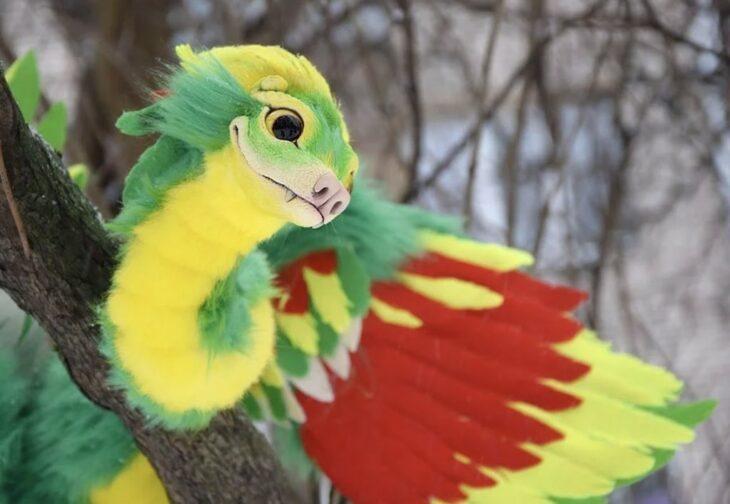 El peluche de Quetzalcóatl es real y necesitamos abrazarlo ahora mismo