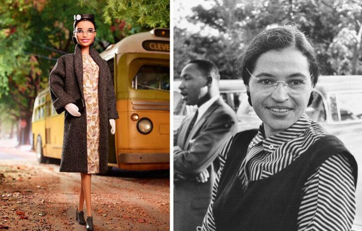 Barbie de Rosa Parks, activista