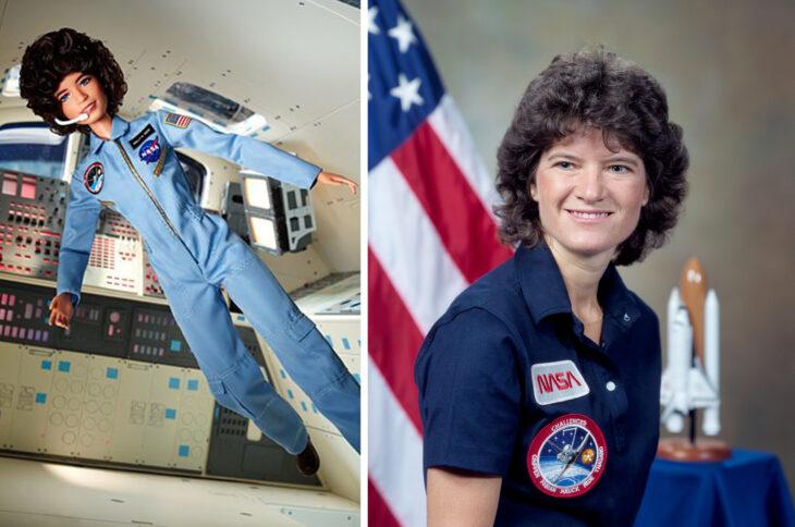 Barbie de Sally Ride, física y astronauta