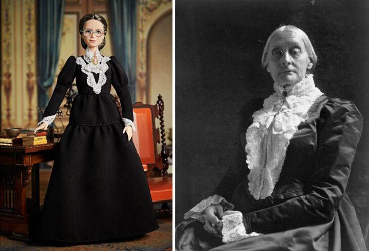 Barbie de Susan B. Anthony, feminista y sufragista
