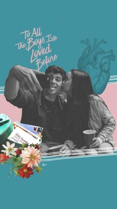 Poster de 'A todos los chicos de los que me enamoré'
