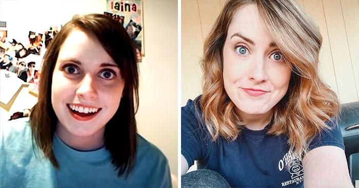 Protagonista del meme de la chica celosa antes y después del meme