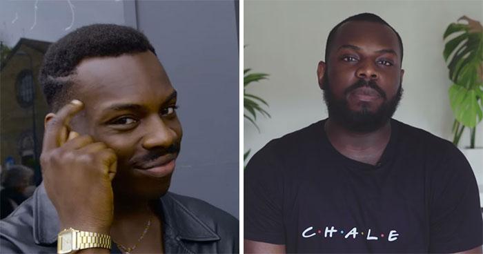 Antes y después del protagonista del meme