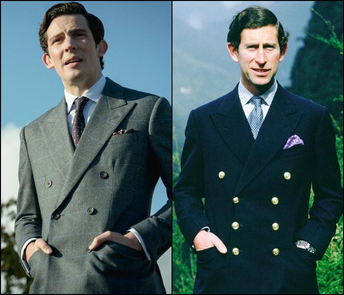 Josh O'Connor como el príncipe Carlos de Gales