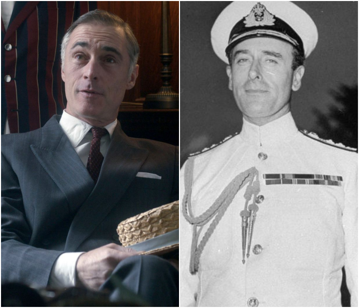 Greg Wise como Lord Mountbatten