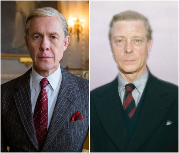Alex Jennings como el Duque de Windsor