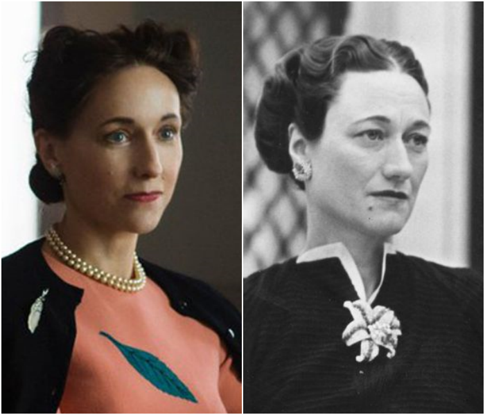 Lia William como Wallis Simpson
