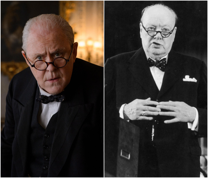 John Lithgow como Sir Winston Churchill