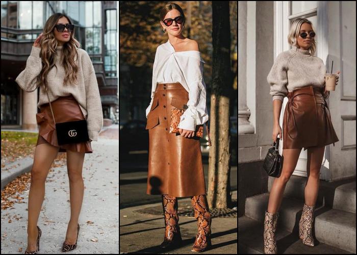 10 Outfits con prendas de cuero para un efecto 'badass'