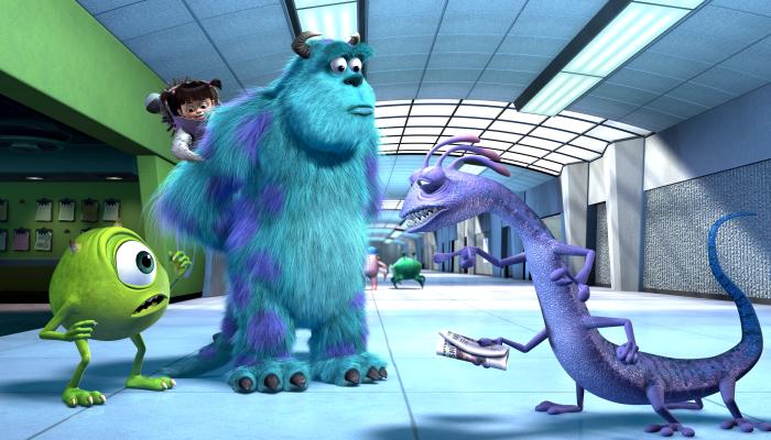 escena de Monsters, Inc