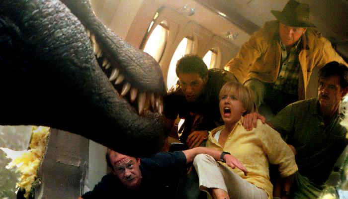 escena de Jurassic Park III