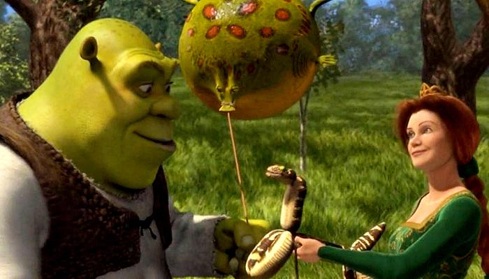 escena de Shrek