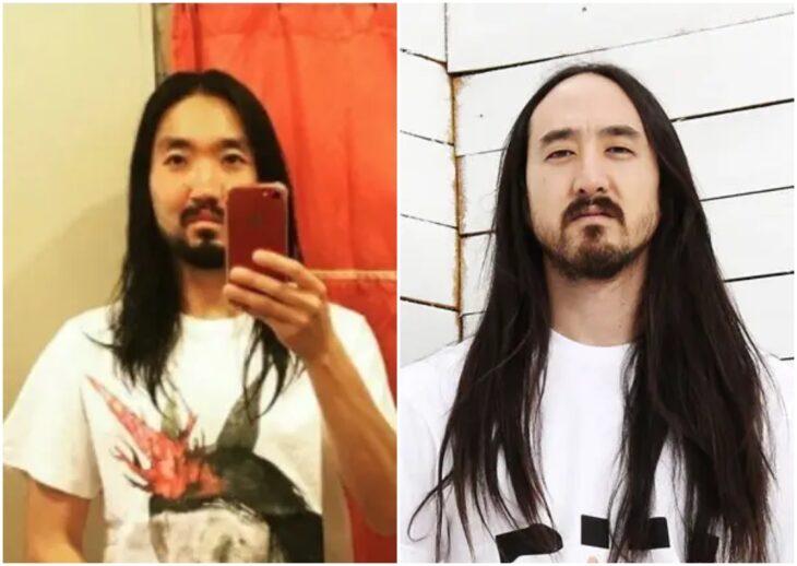 Persona siendo comparada con Steve Aoki